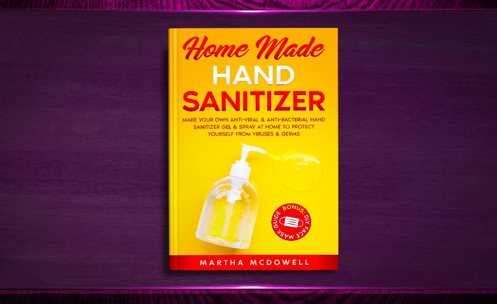 home made diy sanitizer
